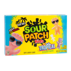 SOUR PATCH KIDS TROPICAL 3.5 OZ THEATER BOX