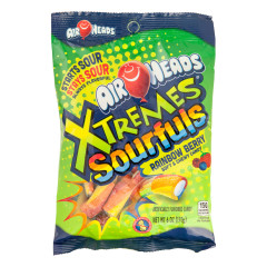AIRHEADS XTREMES SOURFULS RAINBOW BERRY BITES 6 OZ PEG BAG