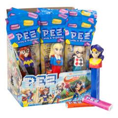 PEZ DC COMICS SUPERHERO GIRLS ASSORTMENT 0.58 OZ
