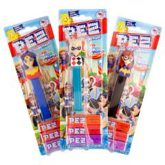 PEZ DC COMICS SUPERHERO GIRLS ASSORTMENT 0.87 OZ BLISTER PACK