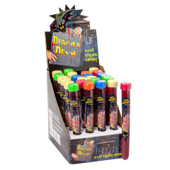 DRACULA DROOL SOUR CHERRY LIQUID CANDY 0.88 OZ TEST TUBE