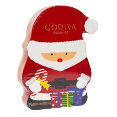 GODIVA SANTA 8 PC 2.3 OZ BOX