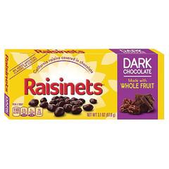 RAISINETS DARK CHOCOLATE 3.5 OZ THEATER BOX