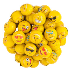 MADELAINE MILK CHOCOLATE FOILED EMOJI BALLS