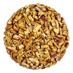 MCCLAIN'S BULK ROASTED SALTED MEDIUM FANCY PECANS *FL DC ONLY*