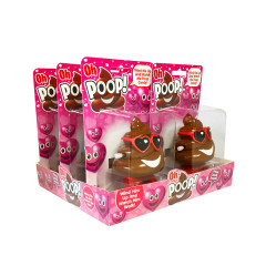 OH POOP VALENTINE'S DAY CANDY DISPENSER 0.52 OZ