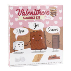 AMUSEMINTS I LOVE YOU S'MORE VALENTINE'S S'MORES KIT 3.95 OZ BOX