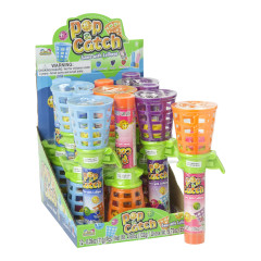 POP AND CATCH GAME WITH LOLLIPOP 0.39 OZ