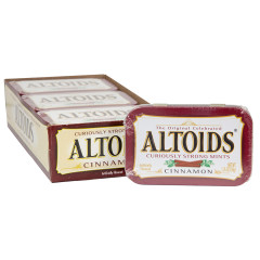ALTOIDS CINNAMON MINTS 1.76 OZ TIN