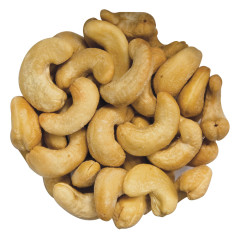 ROASTED SALTED CASHEWS 320 CT