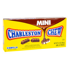 CHARLESTON CHEW MINI PIECES 3.5 OZ THEATER BOX