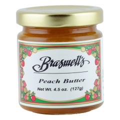 BRASWELL'S PEACH BUTTER 4.5 OZ JAR *FL DC ONLY*