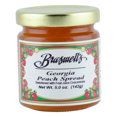 BRASWELL'S GEORGIA PEACH SPREAD 5 OZ JAR *FL DC ONLY*
