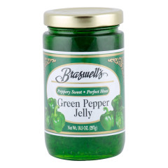 BRASWELL'S GREEN PEPPER JELLY 10.5 OZ JAR *FL DC ONLY*