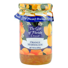 BRASWELL'S GIFT OF FLORIDA ORANGE MARMALADE 10.5 OZ JAR *FL DC ONLY*