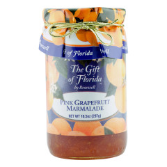 BRASWELL'S GIFT OF FLORIDA PINK GRAPEFRUIT MARMALADE 10.5 OZ JAR *FL DC ONLY*