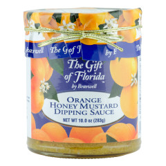 BRASWELL'S ORANGE HONEY MUSTARD DIPPING SAUCE 10 OZ JAR *FL DC ONLY*