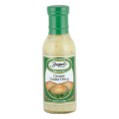 BRASWELL'S CREAMY VIDALIA ONION DRESSING 12 OZ BOTTLE *FL DC ONLY*