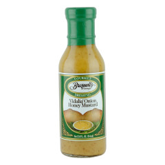BRASWELL'S VIDALIA ONION HONEY MUSTARD DRESSING 12 OZ BOTTLE *FL DC ONLY*