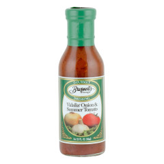 BRASWELL'S VIDALIA ONION AND SUMMER TOMATO DRESSING 12 OZ BOTTLE *FL DC ONLY*