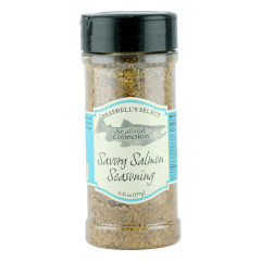 BRASWELL'S SAVORY SALMON SEASONING 7.25 OZ SHAKER JAR *FL DC ONLY*