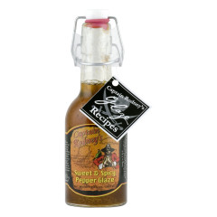 CAPTAIN RODNEY'S SWEET AND SPICY PEPPER GLAZE 9 OZ BOTTLE *FL DC ONLY*