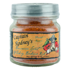CAPTAIN RODNEY'S WHISKEY BBQ RUB 6 OZ *FL DC ONLY*