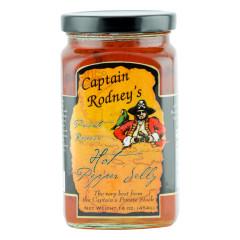 CAPTAIN RODNEY'S HOT PEPPER JELLY 16 OZ JAR *FL DC ONLY*