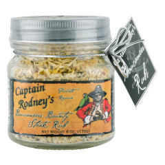 CAPTAIN RODNEY'S STEAK RUB 6 OZ *FL DC ONLY*