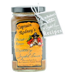 CAPTAIN RODNEY'S TEMPTATION OF JEZEBEL SAUCE 16 OZ JAR *FL DC ONLY*