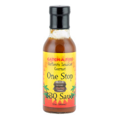 CATCH A FIRE ONE STOP BBQ SAUCE 12 OZ BOTTLE *FL DC ONLY*