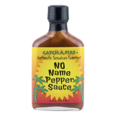 CATCH A FIRE NO NAME PEPPER SAUCE 6.5 OZ BOTTLE *FL DC ONLY*