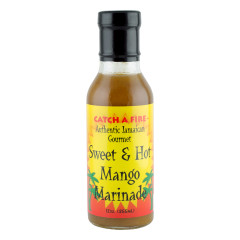 CATCH A FIRE SWEET AND HOT MANGO MARINADE 12 OZ BOTTLE *FL DC ONLY*