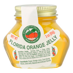 DOD FLORIDA ORANGE JELLY 3 OZ JAR *FL DC ONLY*