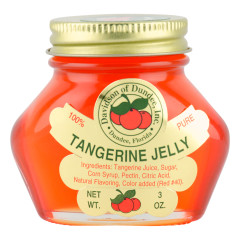 DOD TANGERINE JELLY 3 OZ JAR *FL DC ONLY*