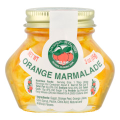DOD ORANGE MARMALADE 3 OZ JAR *FL DC ONLY*