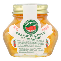 DOD ORANGE COCONUT MARMALADE 3 OZ JAR *FL DC ONLY*