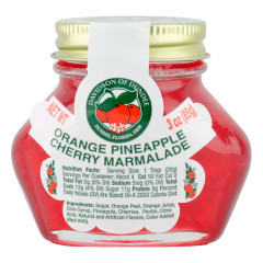 DOD ORANGE PINEAPPLE CHERRY MARMALADE 3 OZ JAR *FL DC ONLY*