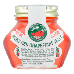 DOD RUBY RED GRAPEFRUIT JELLY 3 OZ JAR *FL DC ONLY*