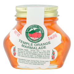 DOD TEMPLE ORANGE MARMALADE 3 OZ JAR *FL DC ONLY*