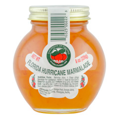 DOD FLORIDA HURRICANE MARMALADE 8 OZ JAR *FL DC ONLY*