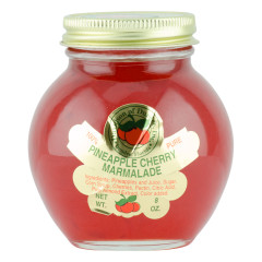 DOD PINEAPPLE CHERRY MARMALADE 8 OZ JAR *FL DC ONLY*
