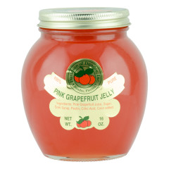 DOD PINK GRAPEFRUIT JELLY 8 OZ JAR *FL DC ONLY*