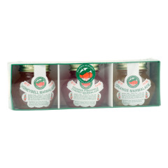 DOD 3 PACK ASSORTED MARMALADE SAMPLER 3 OZ BOX *FL DC ONLY*