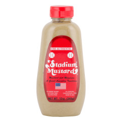 AUTHENTIC STADIUM MUSTARD 12 OZ SQUEEZE BOTTLE *FL DC ONLY*