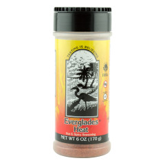 EVERGLADES HEAT SEASONING 6 OZ SHAKER JAR *FL DC ONLY*