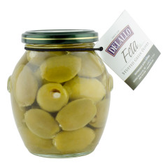 DELALLO FETA CHEESE STUFFED OLIVES 13.1 OZ JAR *FL DC ONLY*