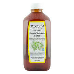 MCCOY'S PALMETTO HONEY 3 LB BOTTLE *FL DC ONLY*