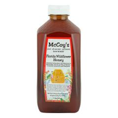 MCCOY'S WILDFLOWER HONEY 3 LB BOTTLE *FL DC ONLY*