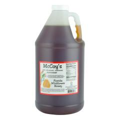 MCCOY'S WILDFLOWER HONEY HALF GALLON JUG *FL DC ONLY*